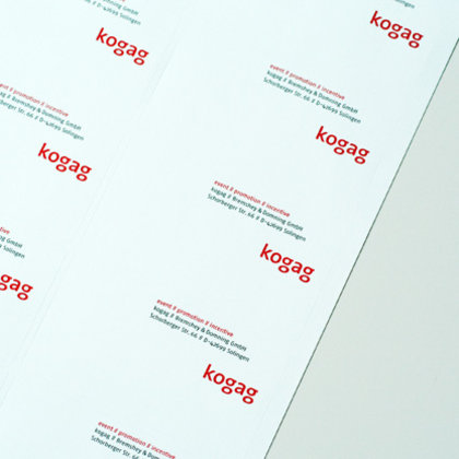 Corporate Design Kogag von Hesse Design