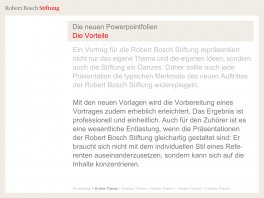 Corporate Design Robert Bosch Stiftung Hesse Design