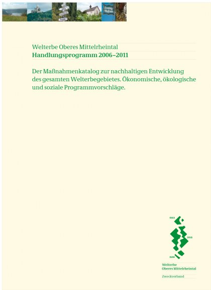 Corporate Design Welterbe Oberes Mittelrheintal Hesse Design
