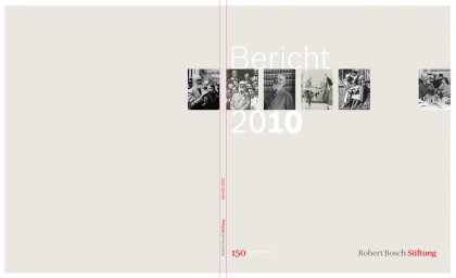 Annual Reports Robert Bosch Foundation Hesse Design