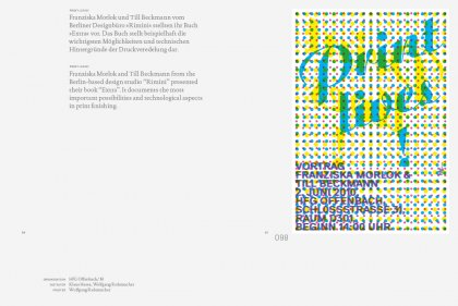 »Pointed« 100 Posters by Klaus Hesse